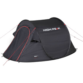 High Peak Vision 2 Tente, black